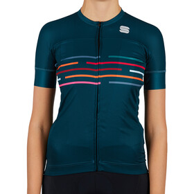 Sportful Vélodrome Short Sleeve Jersey Women sea moss